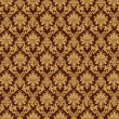 Damask pattern wall — Stock Photo