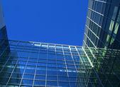 Perspektivní stavební fasáda — Stock fotografie