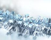 Noel yıldız mavi — Stok fotoğraf