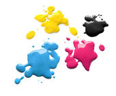Printing inks cmyk — Stock Photo