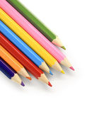 Color pencils diagonal — Stock Photo