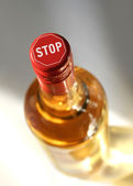 Stop drinking — Stock Photo