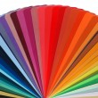 Color guide rainbow — Stock Photo
