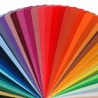 Color guide rainbow — Stock Photo #9399534