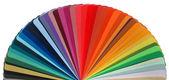 色の虹がガイド — ストック写真