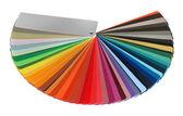 Kleurenspectrum gids — Stockfoto