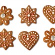 Christmas cookie gingerbreads — Stock Photo #9752671