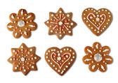 圣诞饼干 gingerbreads — 图库照片