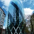 The Gherkin skyscraper London - Stock Photo