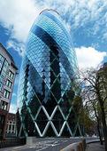 The Gherkin skyscraper London — Stock Photo
