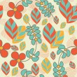 Royalty-Free Stock Vector Image: Flowers seamless pattern