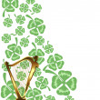 Background for St. Patrick's Days — Stock Vector