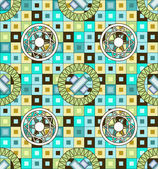 Mosaic seamless pattern background — Vecteur