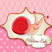 Welcome baby card — Vecteur