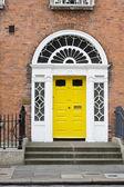 Georgian Door — Stock Photo