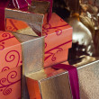 Foto Stock: Wrapped presents