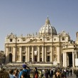 St Peter`s basilica — Stock Photo