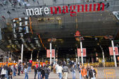 Mare Magnum shopping centre — Stock Photo