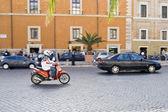 Rome Traffic — Stock Photo