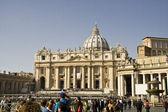 St Peter`s basilica — Stock Photo