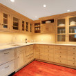 Stock Photo: Natural kitchen in luxury basement