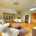 Fantastic modern living room home interior. — Stock Photo