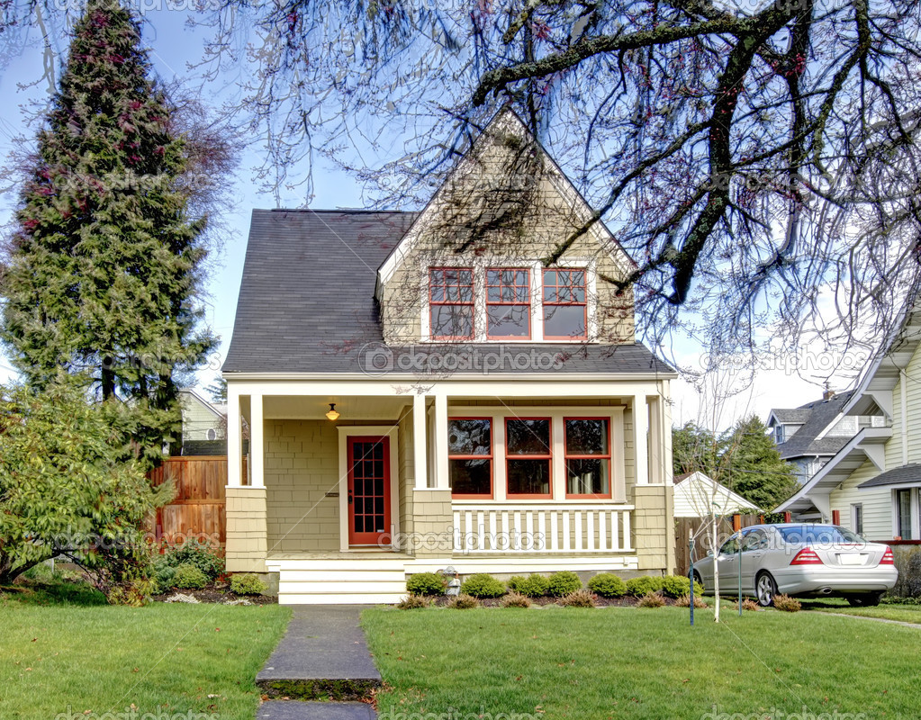 8 delightful small house with porch house plans 25441 for Tiny house with porch