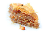 Baklava piece — Stock Photo