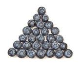 Blueberry Pyramid — Stock Photo
