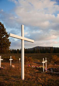Wooden Cross — Foto Stock