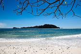Paesaggio dell'isola spiaggia — Foto Stock