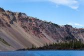 Crater Lake Rim — Stock Photo