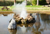 Calistoga Geyser — Stock Photo