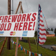 Постер, плакат: Fireworks Signs