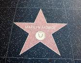 Marilyn monroe hollywood ster — Stockfoto