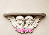Baby Angel Shelf — Stock Photo