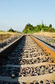 Demiryolu. — Stok fotoğraf