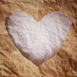 Heart Vintage paper texture background. — Stock Photo #10268619