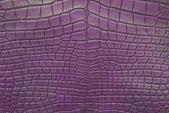 Textura de la piel de cocodrilo vintage morado. — Foto de Stock