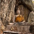 Image of  Buddha under the tree. — Foto Stock