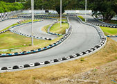 Go Kart Race Track. — Stock Photo
