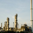 Oil purify plant with blue sky. — Stock Photo