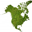 Canada map isolated on the white. — Stock Photo #9752237