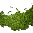 Russia map isolated on the white. — Stock Photo #9752470