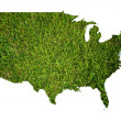 USA map isolated on the white. — Stock Photo #9752640