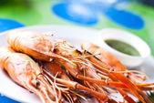淡水虾海鲜. — 图库照片