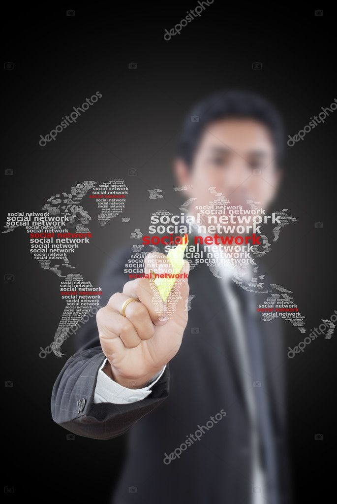 This image for business and technology concept. — Stock Photo #9791012