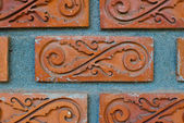 Old brick wall texture background. — Stock Photo