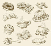 Food set — Vetorial Stock
