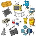 ������, ������: Movie icon set